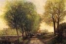 Kopie des Alten Meisters Sisley - Auftragsarbeit Galerie Köln