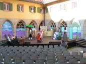Bühnenbild für Klosterhofspiele Langenzenn