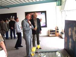 artoz media - Dr. Thomas Jung und Künstler Gerhard Prokop