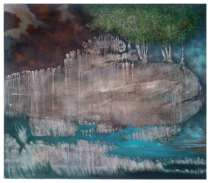 Earth-Picture - MF 3 - 140 cm x 150 cm - Öllasur auf Leinwand - € 4900,- - sold