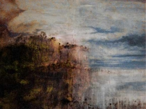 """Sleeping Earth 2"" - 150 cm x 180 cm - sold"
