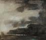 """""""Memento"""" - Ölfarbe auf Spachtelgrund/Tabaksudlasur auf Sackleinen - 70 cm x 80 cm"""