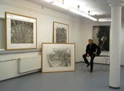 """Kaslovski mit """"Zeit""""-Werken - Hier: Galerie Artoz"""