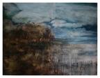 """Sleeping Earth 1"" - Öl auf Leinwand - 150 cm x 180 cm - Preis auf Anfrage"