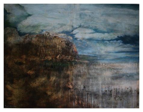 """Sleeping Earth"" - 150 cm x 180 cm - Öl auf Leinwand - 9800,-"