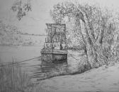 Alter Flusskahn